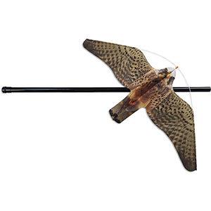 espantapajaros halcon eolo volador